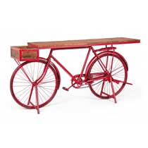 CONSOLLE BICYCLE ROSSO