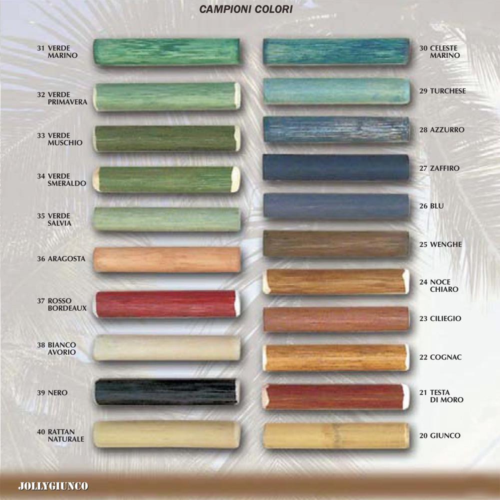 Catalogo Colori Per Pareti produzione attaccapanni in rattan,midollino,giunco.